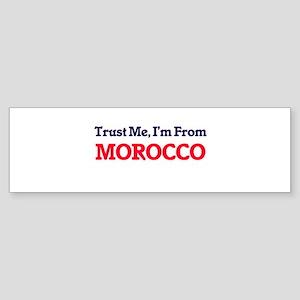 Trust Me, I'm from Mozambique Bumper Sticker