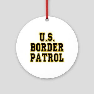 U.S. Border Patrol Ornament (Round)