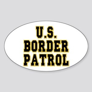 U.S. Border Patrol Oval Sticker