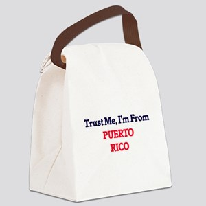 Trust Me, I'm from Qatar Canvas Lunch Bag