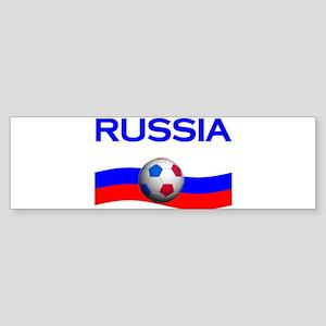 TEAM RUSSIA WORLD CUP Bumper Sticker