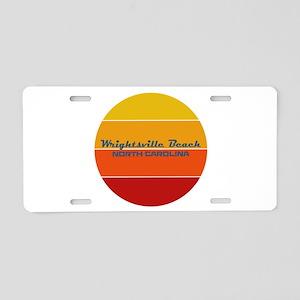 North Carolina - Wrightsvil Aluminum License Plate