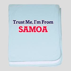Trust Me, I'm from San Marino baby blanket