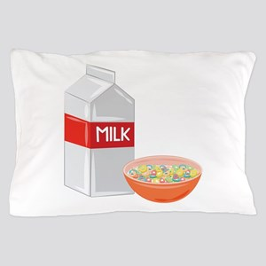 Milk and Cereal Pillow Case