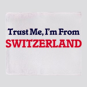 Trust Me, I'm from Syria Throw Blanket
