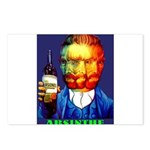 Absinthe Liquor Drink Postcards (Package of 8)