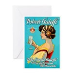 Polveri Galeffi Sparkling Water Greeting Cards