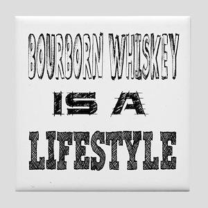 Bourborn Whiskey Is A LifeStyle Tile Coaster