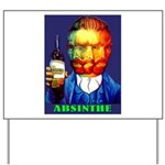 Absinthe Liquor Drink Yard Sign
