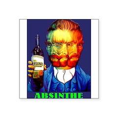 Absinthe Liquor Drink Sticker