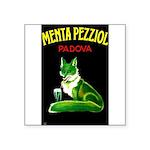 Menta Pezziol Padova Aperitif Liquor Sticker