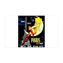 Paris La Nuit Ville des Folies Decal Wall Sticker