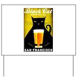 Black Cat Brewing Co. Yard Sign