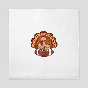 Thanksgiving Turkey Queen Duvet
