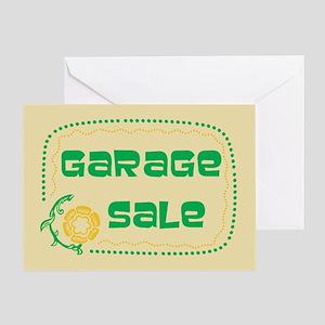 Garage Sale Greeting Card