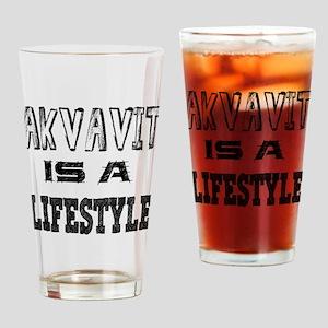 Akvavit Is A LifeStyle Drinking Glass