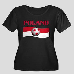 TEAM POLAND WORLD CUP Women's Plus Size Scoop Neck