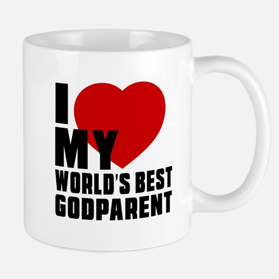 I love My World's Best Godparent Mug