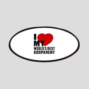 I love My World's Best Godparent Patch