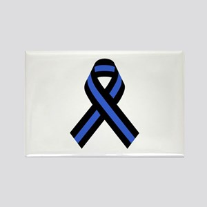 Police Ribbon Magnets
