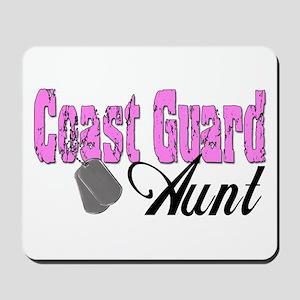 Coast Guard Aunt Mousepad