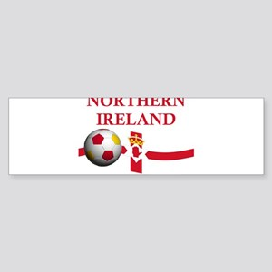 TEAM NORTHERN IRELAND WORLD C Bumper Sticker