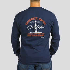 OIL LIFE Oilfield Long Sleeve Dark T-Shirt