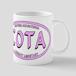 COTA CALIG PINK BLK STRK Mugs