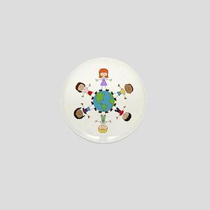 Children Around The World Mini Button