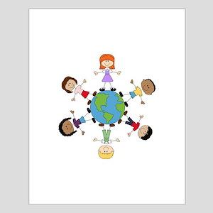 Children Around The World Posters