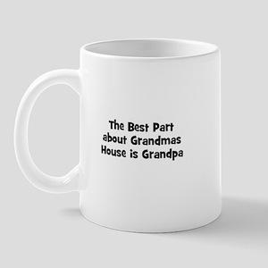 The Best Part about Grandmas  Mug