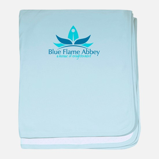 Blue Flame Abbey baby blanket