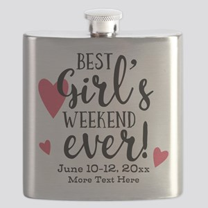 Best Girl's Weekend Ever PD Flask