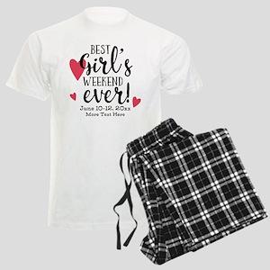 Best Girl's Weekend Ever PD Men's Light Pajamas