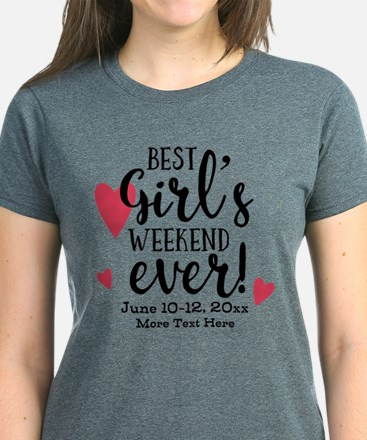 Best Girl's Weekend Ever PD Women's Dark T-Shirt