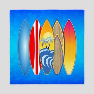 Surfboards Queen Duvet