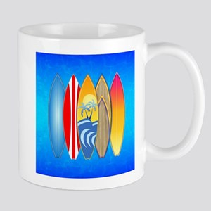 Surfboards Mugs