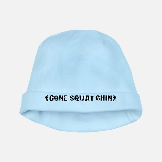 Gone squatchin LP baby hat