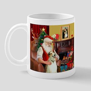 Santas Borzoi Mug