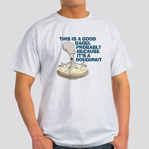 American Dad Bagel Doughnut Light T-Shirt