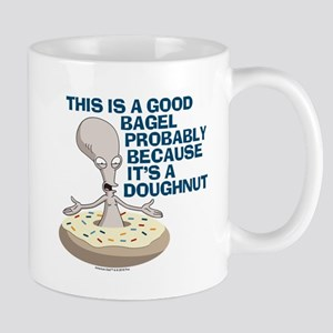 American Dad Bagel Doughnut Mug