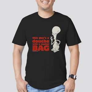 american dad douche Men's Fitted T-Shirt (dark)