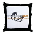 VirtualDodge.com Throw Pillow