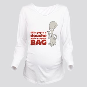 american dad douche Long Sleeve Maternity T-Shirt