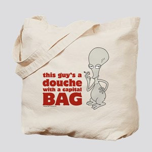 american dad douche Tote Bag