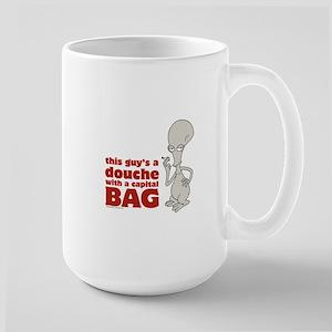 american dad douche Large Mug