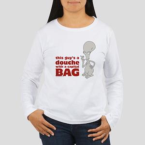 american dad douche Women's Long Sleeve T-Shirt