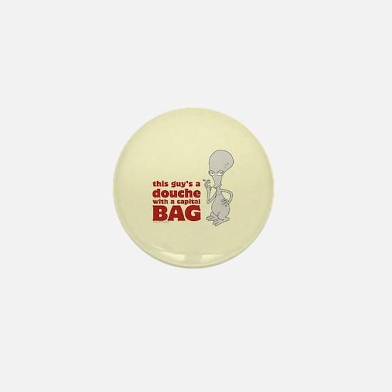 american dad douche Mini Button