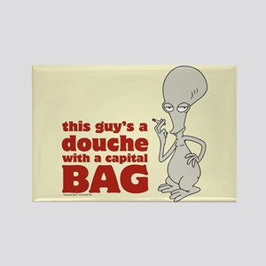 american dad douche Rectangle Magnet