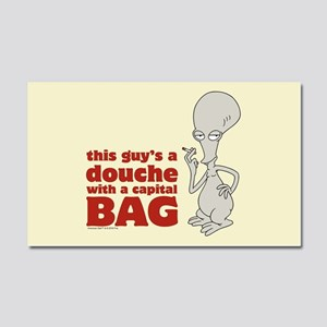 american dad douche Car Magnet 20 x 12